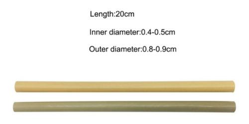 excelente set, 12 popotes ecológicos de bambú reutilizables
