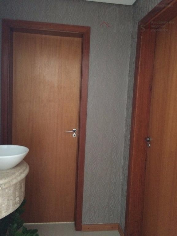 excelente sobrado 3 suítes armarios à venda, condomínio ibiti royal park, sorocaba. - ca0182
