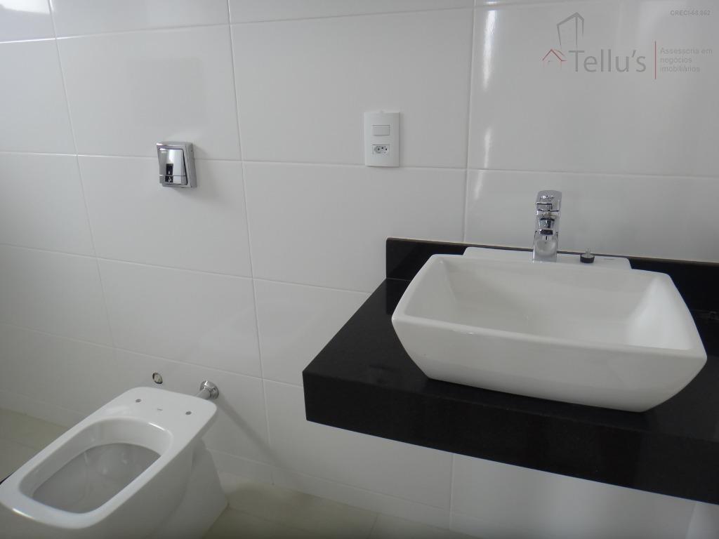 excelente sobrado 4 suítes(1 piso térreo)e piscina à venda, condomínio chácara ondina, sorocaba. - ca1041