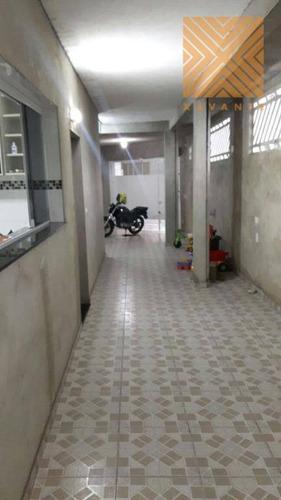 excelente sobrado residencial com salão de festas à venda, jardim laone, são paulo. - so1188
