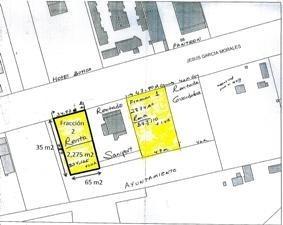 excelente terreno baldío, totalmente plano, fracción 2. ubicado al lado derecho de saniport, cuenta