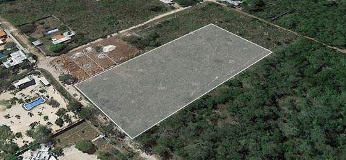 excelente terreno cholul granjas en venta