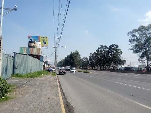excelente terreno comercial plano sobre la carretera méxico-cuautla km 1