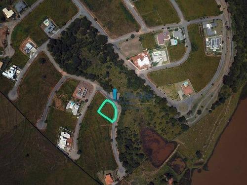 excelente terreno condomínio fechado de 1080m² de frente à área verde - te0283