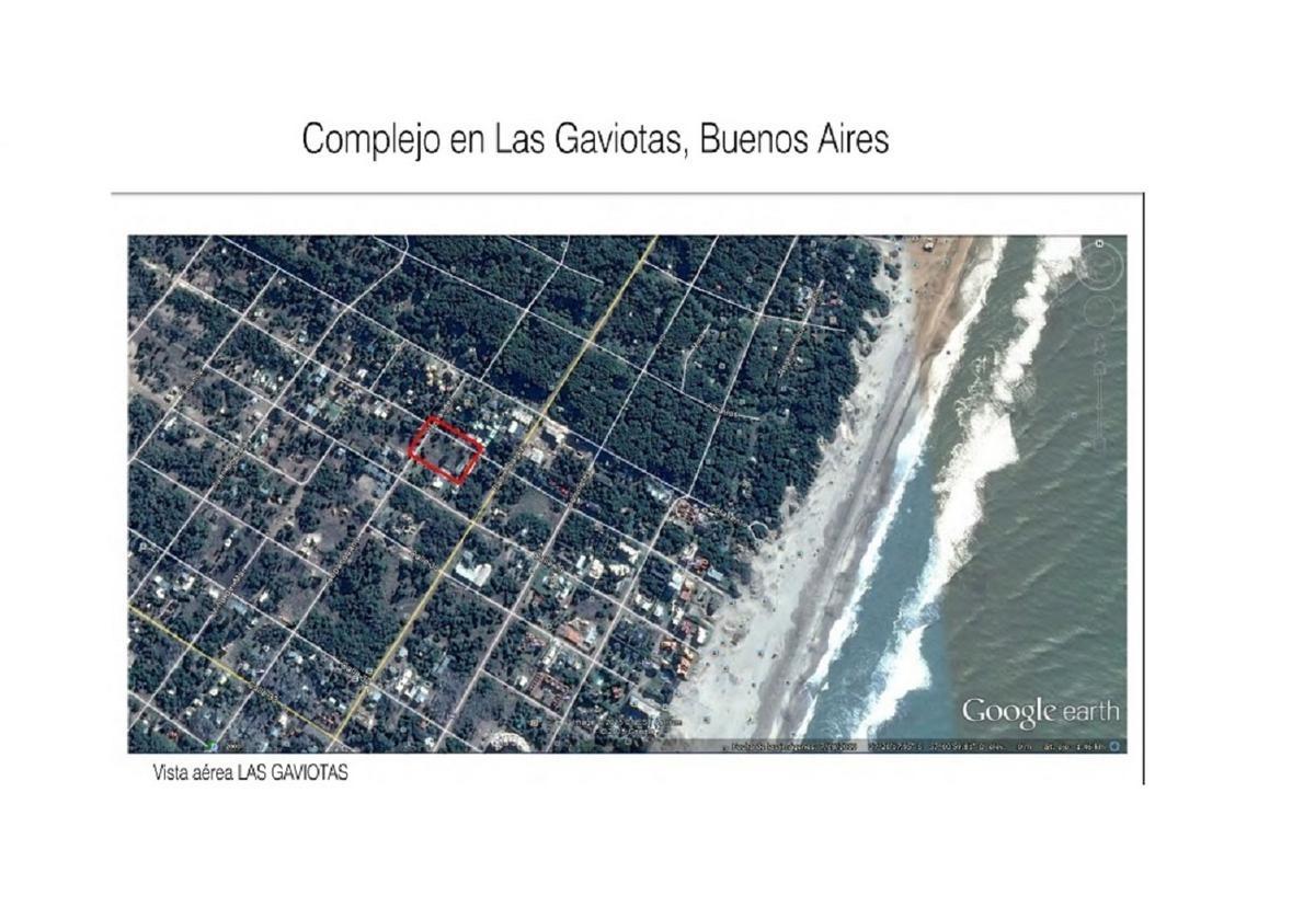 excelente terreno de 1345 m2 en esq, a 350 mts del mar. las gaviotas