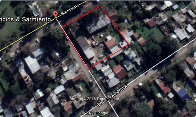 excelente terreno de 2200 m2 a 300 au. panamericana, en la localidad de benavidez