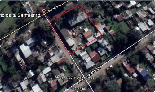excelente terreno de 2200 m2 a 300  mts. de au. panamericana, en la localidad de benavidez