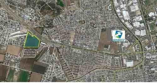 excelente terreno de 4.34 hectareas en prolongacion bernardo quintana $1,700 xm2