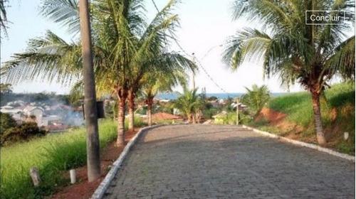 excelente terreno de 457 m² no condomínio vista do mar - ro 0001