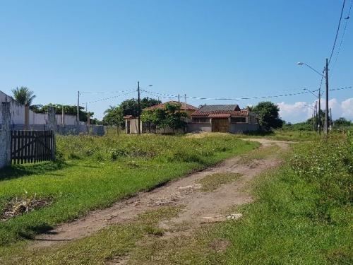 excelente terreno de esquina no jardim maramba em itanhaém!!