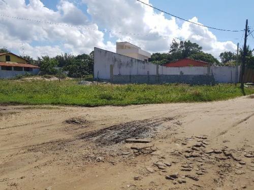 excelente terreno de esquina no maramba em itanhaém - sp