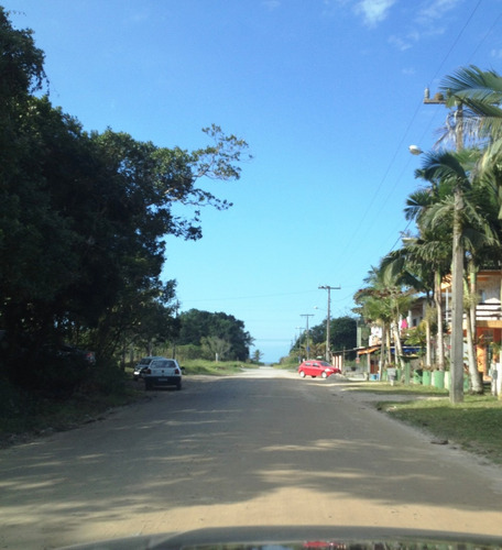 excelente terreno duas frentes 150 metros da praia em itapoa