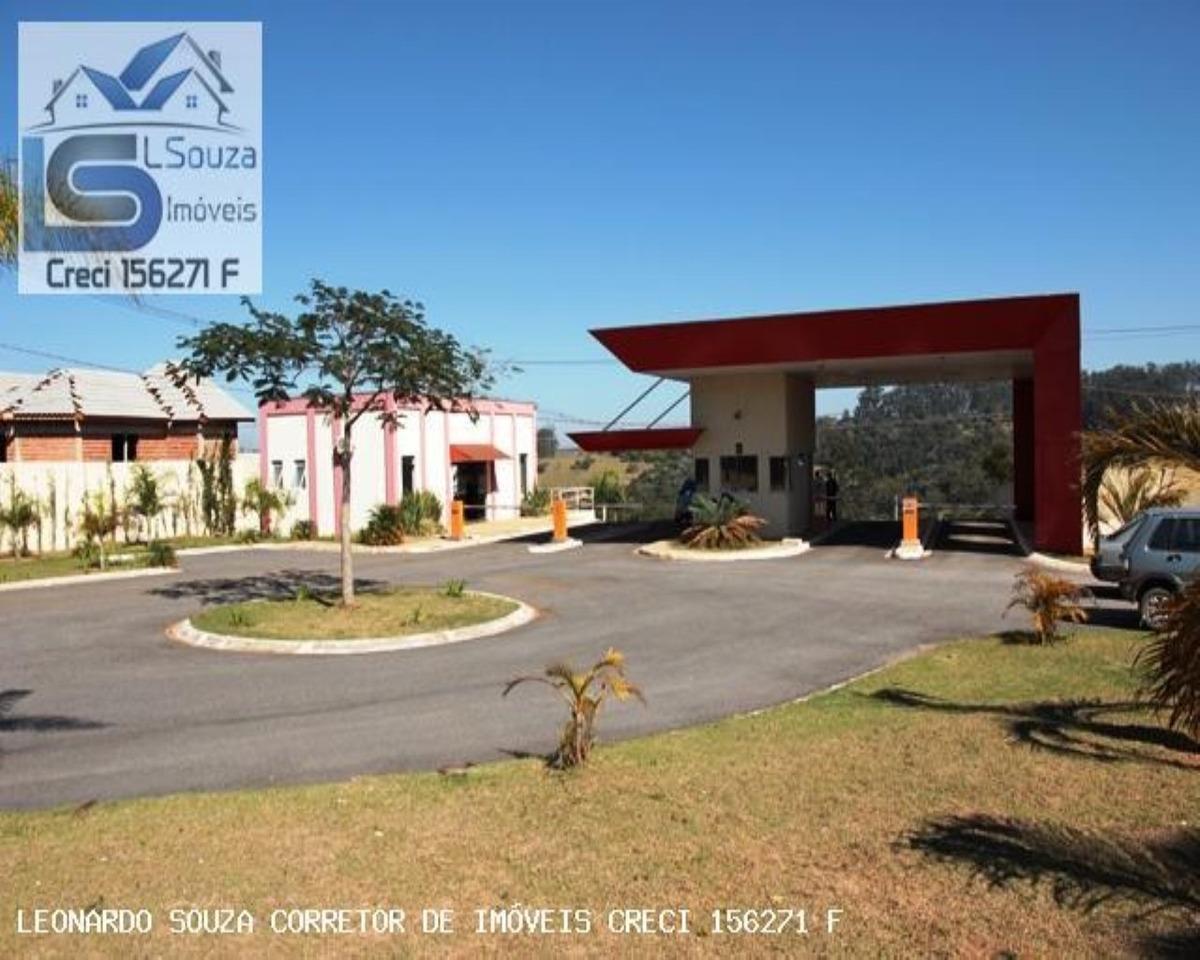 excelente terreno em condomínio fechado jardim flamboyan em bragança paulista - 485 - 34064484