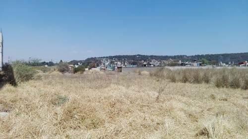 excelente terreno en capulhuac