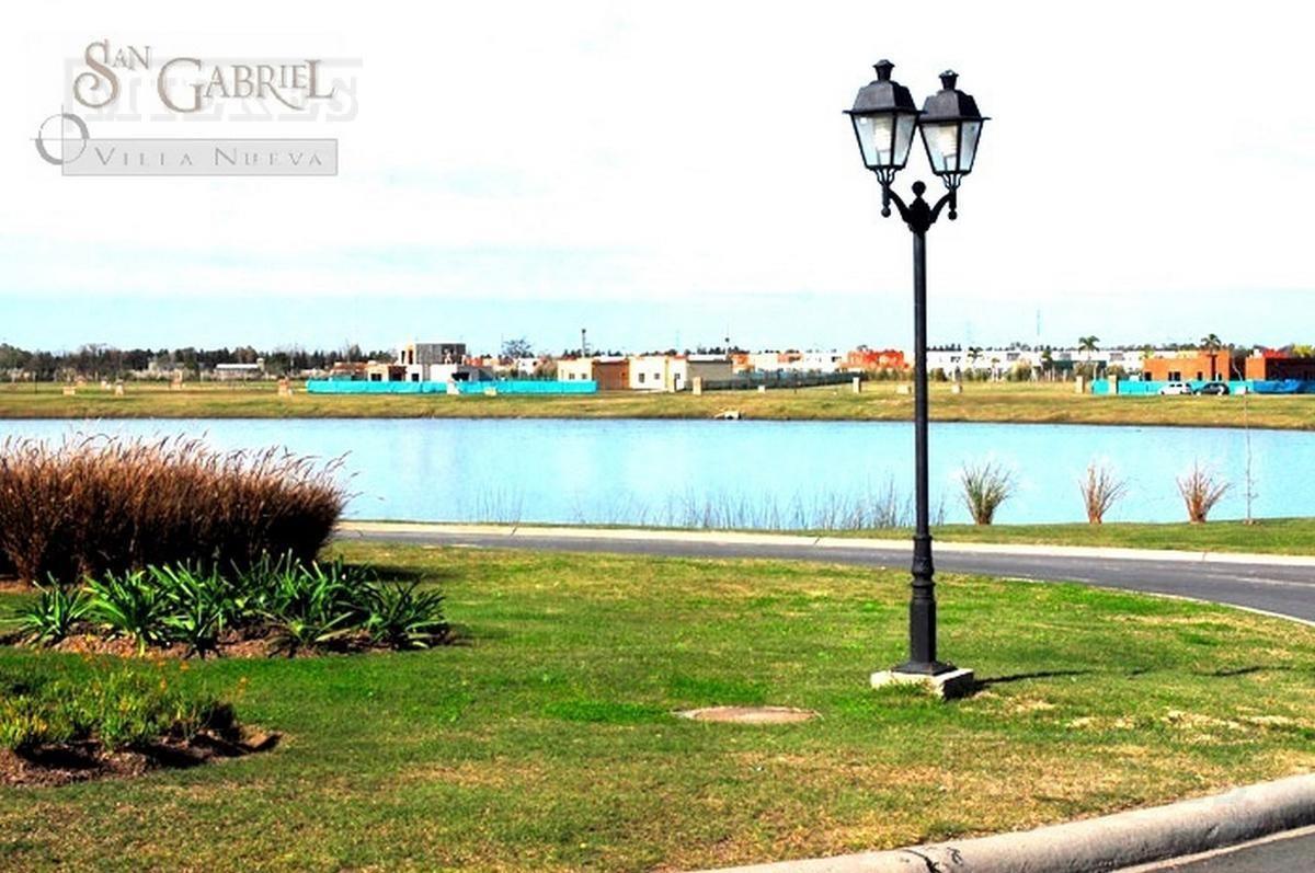 excelente terreno en el barrio san gabriel a la laguna!! orientacion norte!!
