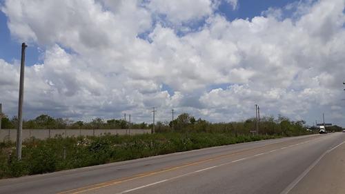 excelente terreno en esquina, sobre carretera federal a la playa