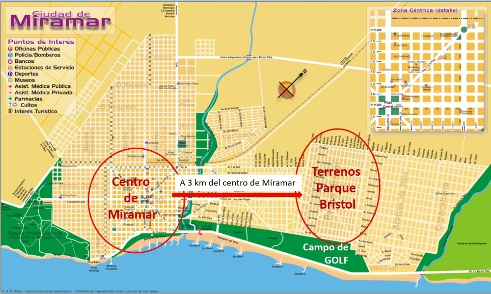 excelente terreno en parque bristol a 3km del centro miramar
