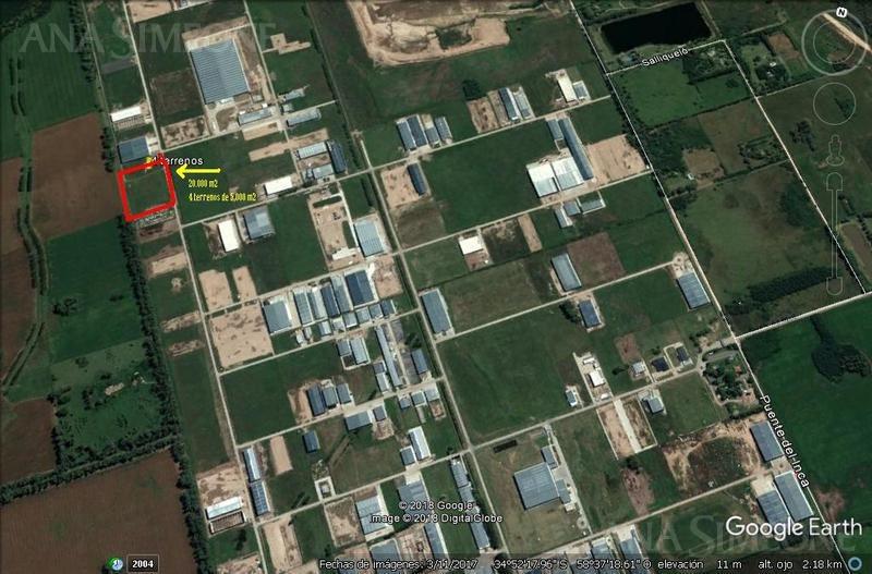 excelente terreno en parque industrial ezeiza