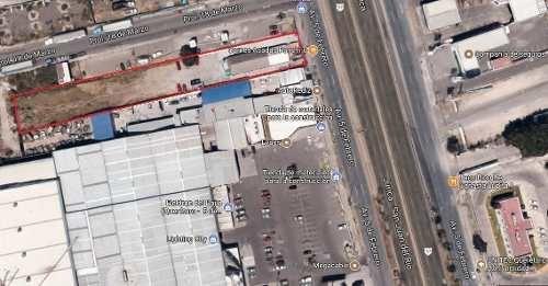 excelente terreno en renta de 4500m2 sobre avenida 5 de febrero !!