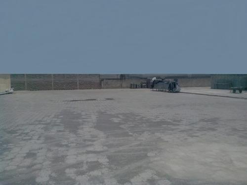 excelente terreno en renta en tultitlán 8,000 m2 [10459]