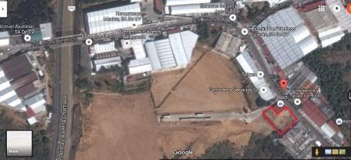 excelente terreno en renta en zona industrial