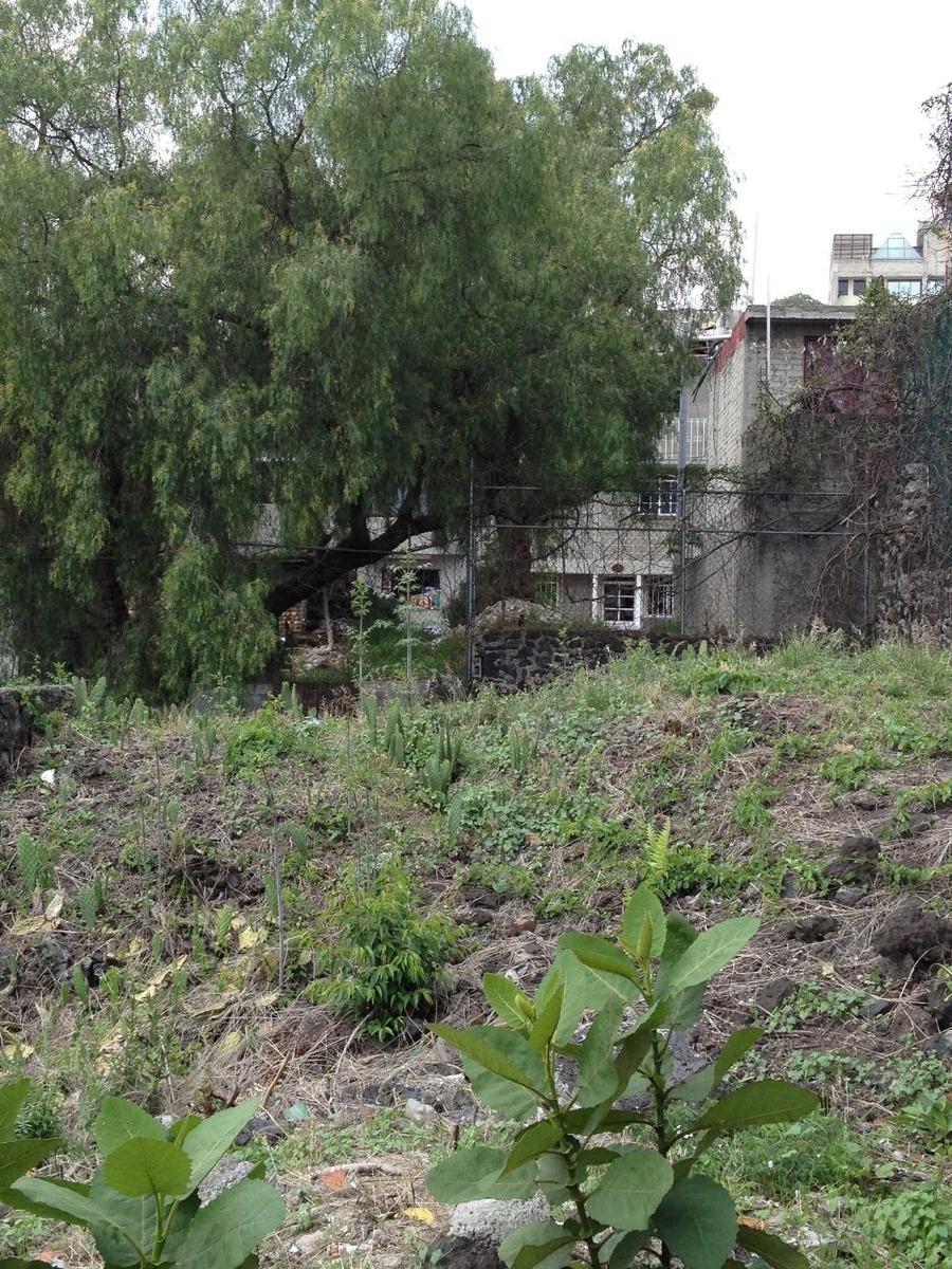 excelente terreno en tlalpan para 4 casas