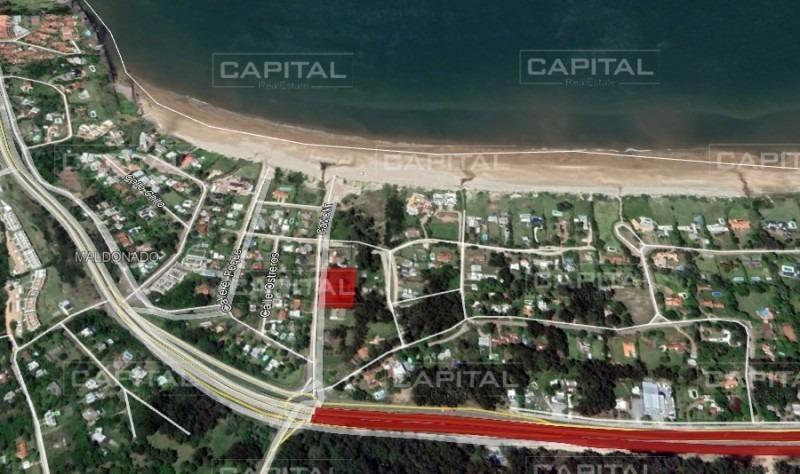excelente terreno en venta a 200 metros del mar - punta ballena-ref:28624