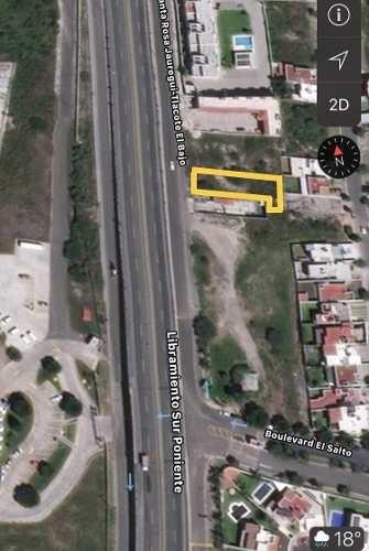 excelente terreno en venta a pie de carretera en real de juriquilla uso mixto
