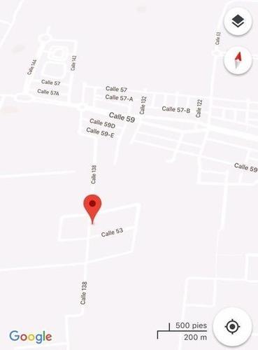 excelente terreno en venta de gran tamaño al norte de mérida en dzitya