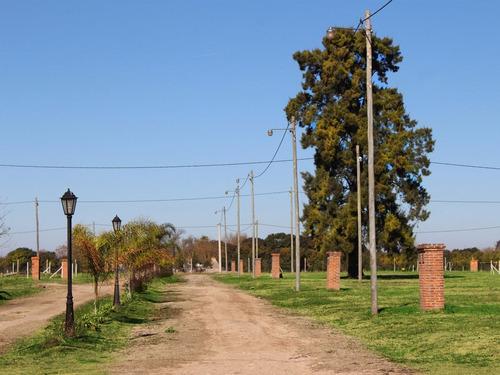 excelente terreno escobar km50. 100% financiado en pesos