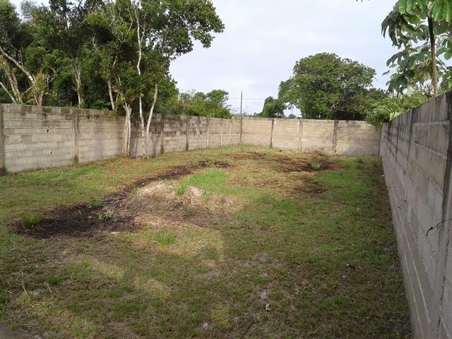 excelente terreno murado em itanhaém pra fazer casa geminada