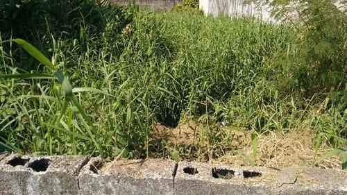 excelente terreno no jardim jamaica 100m do mar  - ref 4131
