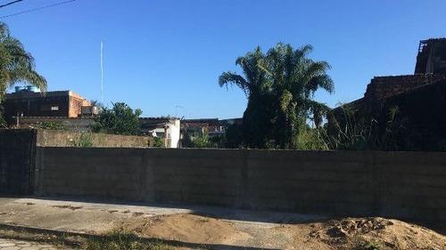 excelente terreno no jardim palmeiras, em itanhaém ref 4254
