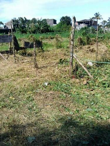 excelente terreno no jardim umuarama, em itanhaém - ref 3658