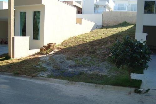 excelente terreno  residencial à venda, condomínio villagio milano, sorocaba. - te1620