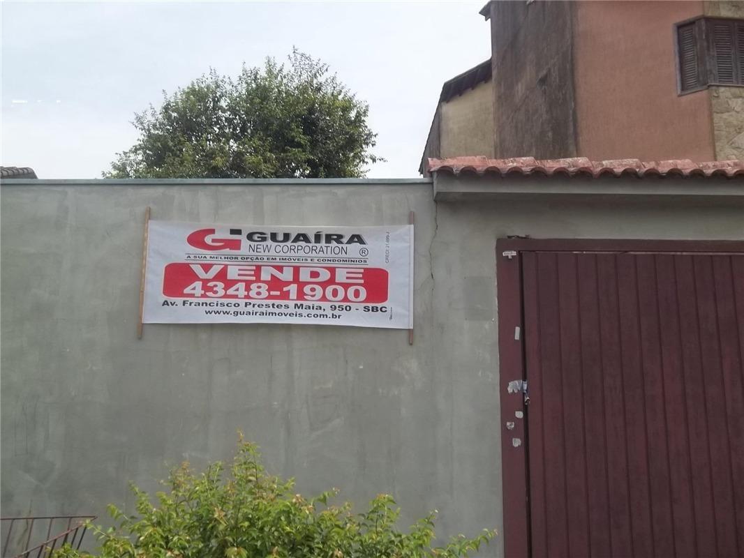 excelente terreno à venda 940 m² - bairro dos casa - são bernardo do campo  - 13535