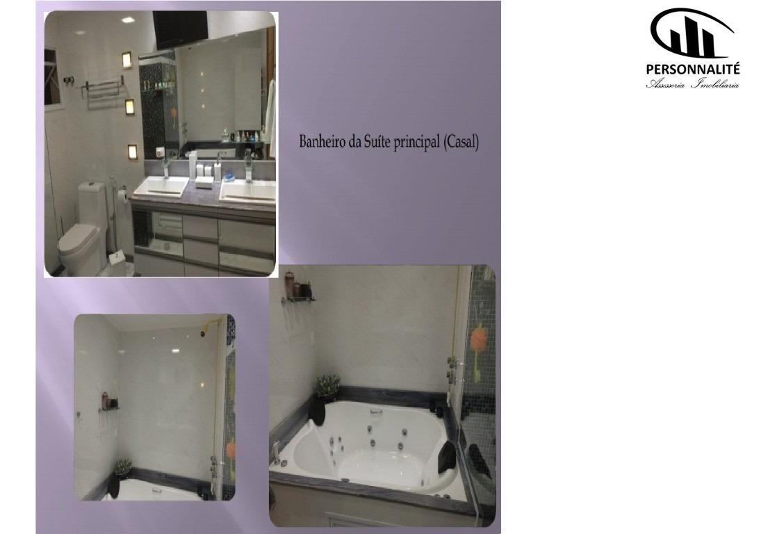 excelente triplex 3 dormitórios com 3 suites  em são caetano do sul, são paulo - alm096v - 34216266