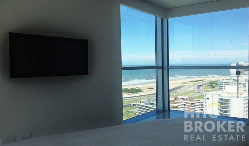 excelente ubicación. vista al mar. amenities de primer nivel.- ref: 140