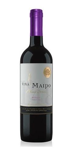 excelente vino viña maipo, tintos y blancos regalo ideal