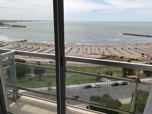 excelente vista al mar balcón 1 ambiente