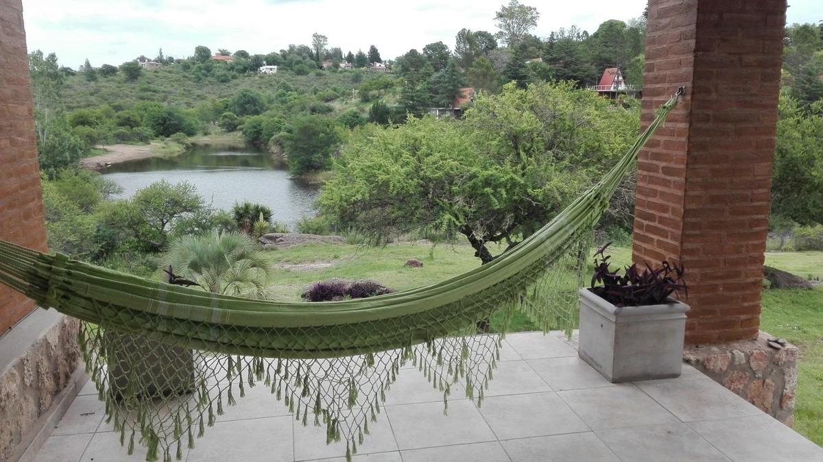 excelente y bella casa en alquiler temporario,costa al lago