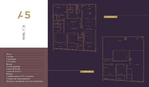 excelentes apartamentos con vista panorámica a querétaro en venta (mt)