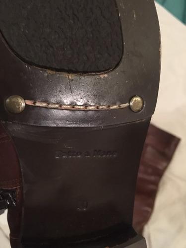 excelentes botas de montar lazaro