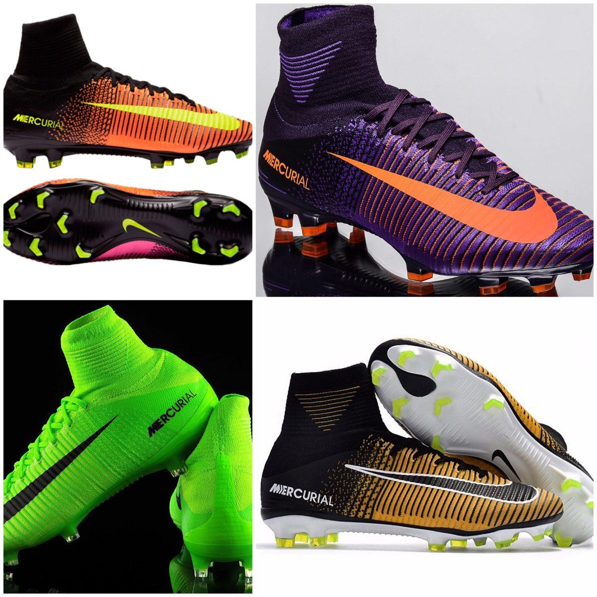zapatos de separación 34568 49a19 Excelentes Botines Nike Mercurial Superfly V Fg Alta Gama!!!