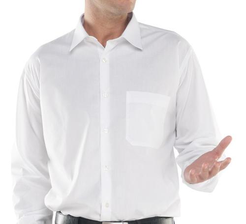 excelentes camisas blancas para caballeros 100% algodón