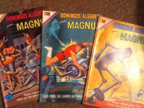 excelentes comics de: domingos alegres magnus 1970