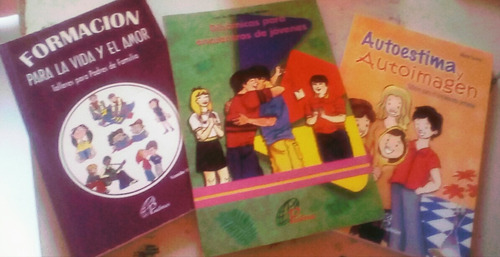 excelentes libros de ayuda con jovenes, familia y autoestima