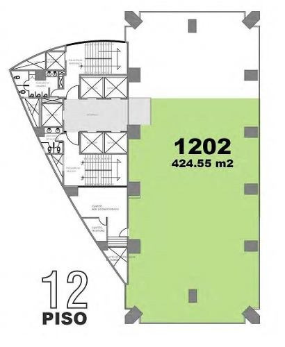 excelentes oficinas 100 % acondicionadas 424 m²