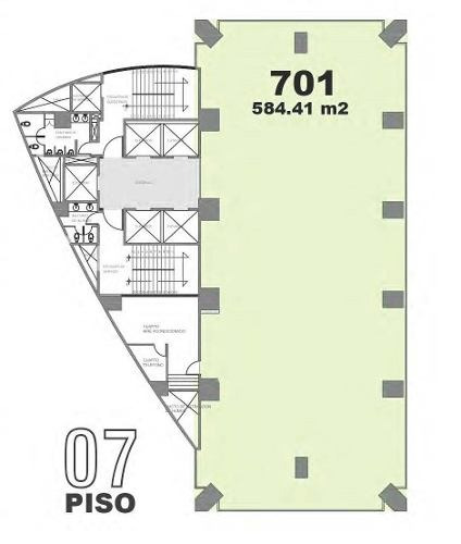 excelentes oficinas 100 % acondicionadas 584 m²