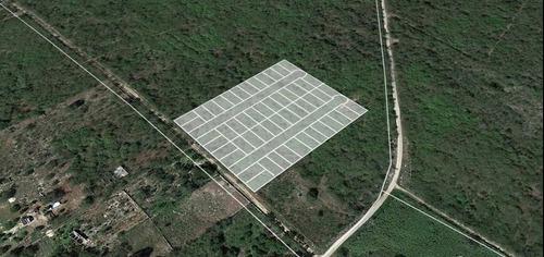 excelentes terrenos de inversión en bosques de yaxkukul